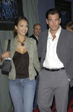 Jessica Alba,Michael Weatherly Stock Images