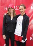 Jessica Alba y Jessica Biel Foto de archivo libre de regalías