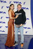 Jessica Andrea and Logic. At the 2017 MTV Video Music Awards held at the Forum in Inglewood, USA on August 27, 2017 Stock Photo