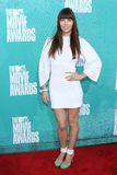 Jessica Biel at the 2012 MTV Movie Awards Arrivals, Gibson Amphitheater, Universal City, CA 06-03-12. Jessica Biel  at the 2012 MTV Movie Awards Arrivals, Gibson Royalty Free Stock Image