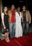 Jessica Biel, Dane Cook, Joy Bryant and Chris Evans Stock Photography