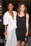 Jessica Biel,Joy Bryant Stock Photo