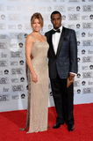 Jessica Biel, P. Diddy Combs Royalty Free Stock Photography