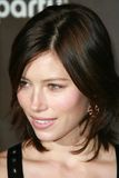 Jessica Biel, Pink Stock Image