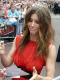 Jessica Biel at A Team Premiere Royalty Free Stock Photo