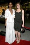Jessica Biel y Joy Bryant Foto de archivo libre de regalías