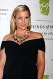 Jessica Capshaw obtient aux 2012 amis unis du gala d'enfants Images libres de droits