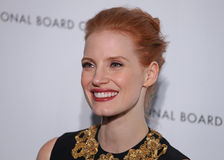 Jessica Chastain photo libre de droits