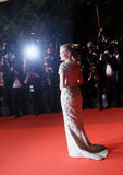 Jessica Chastain attends the `In The Fade Aus Dem Nichts`. Premiere during the 70th annual Cannes Film Festival at Palais des Festivals on May 26, 2017 in royalty free stock photography