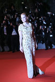 Jessica Chastain attends the `In The Fade Aus Dem Nichts`. Premiere during the 70th annual Cannes Film Festival at Palais des Festivals on May 26, 2017 in royalty free stock photo