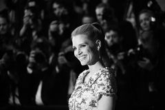 Jessica Chastain attends the `In The Fade Aus Dem Nichts`. Premiere during the 70th annual Cannes Film Festival at Palais des Festivals on May 26, 2017 in stock photos