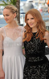 Jessica Chastain & Jess Weixler Royalty Free Stock Photography
