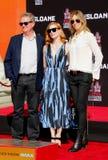 Jessica Chastain, John Madden und Kathryn Bigelow Stockbild
