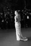 Jessica Chastain woont ` in Fade Aus Dem Nichts ` bij royalty-vrije stock foto