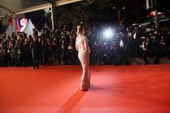 Jessica Chastain woont ` in Fade Aus Dem Nichts ` bij royalty-vrije stock fotografie