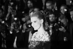 Jessica Chastain woont ` in Fade Aus Dem Nichts ` bij stock afbeeldingen