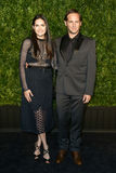 Jessica Ciencin Henriquez, Josh Lucas. NEW YORK-APR 24: Josh Lucas R and Jessica Ciencin Henriquez attend the 12th Annual Tribeca Film Festival Artists Dinner Royalty Free Stock Images