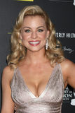 Jessica Collins arrives at the 2012 Daytime Emmy Awards Stock Images