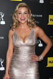 Jessica Collins arrives at the 2012 Daytime Emmy Awards Royalty Free Stock Images