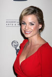 Jessica Collins arrives at the ATAS Daytime Emmy Awards Nominees Reception Royalty Free Stock Image