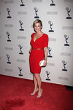 Jessica Collins arrives at the ATAS Daytime Emmy Awards Nominees Reception Stock Photo