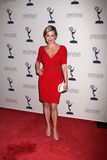 Jessica Collins arrives at the ATAS Daytime Emmy Awards Nominees Reception Stock Images