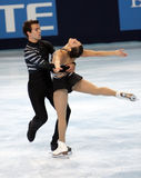 Jessica DUBE / Bryce DAVISON (CAN) Stock Images