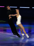 Jessica DUBE/Bryce DAVISON Gala Lizenzfreie Stockbilder