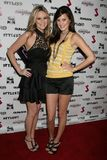 Jessica Kinni and Zoe Myers at the J.Smith Music Video Debut Premiere Party. Les Deux, Hollywood, CA. 02-25-09 Royalty Free Stock Image