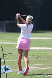 Jessica Korda at golf Evian Masters 2012 Stock Image