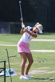 Jessica Korda at golf Evian Masters 2012 Stock Photos