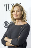 Jessica Lange. Arrives for the 70th Annual Tony Awards Meet the Nominees press reception at the Diamond Horseshoe of the Paramount Hotel in mid-town Manhattan's Royalty Free Stock Image