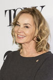 Jessica Lange. Film and stage actress Jessica Lange arrives for the 70th Annual Tony Awards Meet the Nominees press reception.  The event was held at the Diamond Stock Image