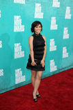 Jessica Lu arriving at the 2012 MTV Movie Awards Stock Photography