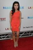 Jessica Lu na premier de fechamento da gala da noite do festival de película de Los Angeles   Foto de Stock