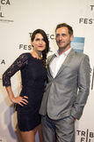Jessica Lucas et Josh Lucas Photographie stock libre de droits