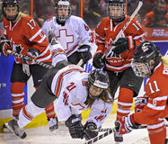 IIHF Women's Ice Hockey World Championship Stock Photos