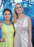 Jessica Parker Kennedy et Hannah New Photo stock