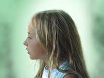 jessica poserar s-sidan Royaltyfri Fotografi
