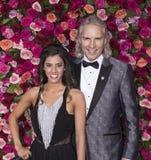 Jessica Rose och Cory Brunish på Tony Awards 2018 Royaltyfria Foton