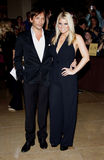 Jessica Simpson et Ken Paves Photographie stock
