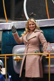 Jessica Simpson - Macy's Thanksgiving Day Parade Stock Photo