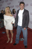 Jessica Simpson,Nick Lachey Royalty Free Stock Image