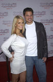 Jessica Simpson,Nick Lachey Stock Images