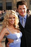 Jessica Simpson,Nick Lachey Stock Photography