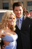 Jessica Simpson,Nick Lachey Stock Photo