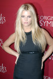 Jessica Simpson on the red carpet. Jessica Simpson appearing on the red carpet in Hollywood Stock Photography
