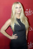 Jessica Simpson on the red carpet. Jessica Simpson appearing for the Fredricks of Hollywood event in Hollywood royalty free stock photography