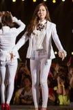 Jessica SNSD przy Ludzkiej kultury EquilibriumConcert Korea festiwalem w Wietnam Fotografia Stock
