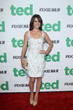 Jessica Stroup arrives at the  Stock Image